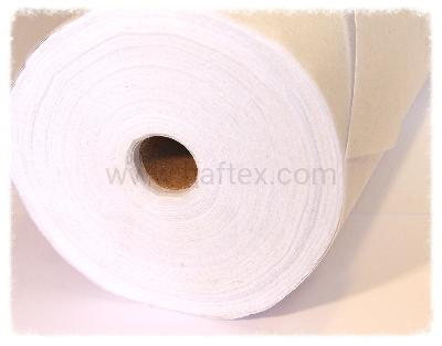Bawełniana biała fizelina