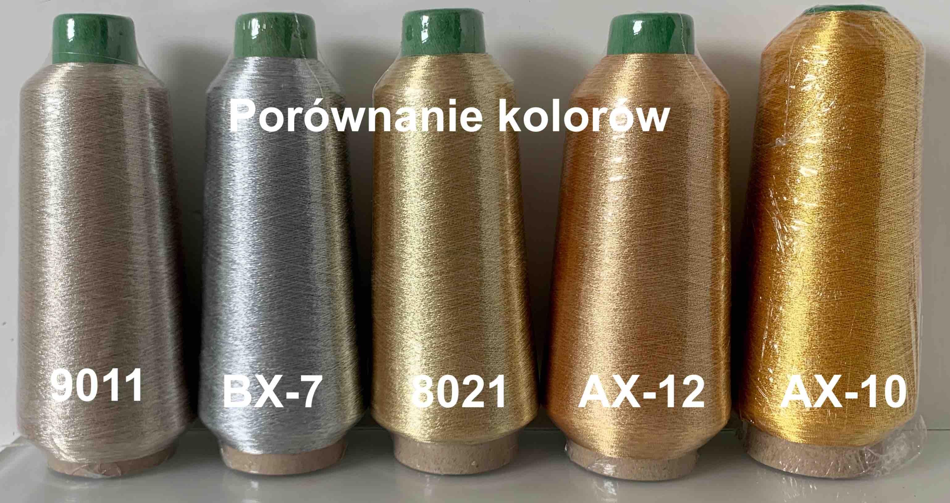 NICI METALICZNE 8021  -  kolor złoty